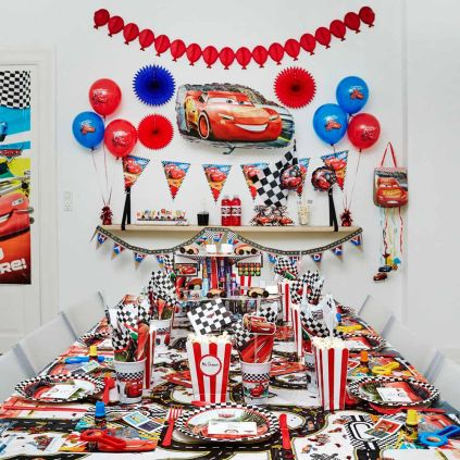 Disney Cars Børnefødselsdag/temafest