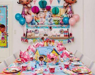 Doc Mcstuffin Pynt Børnefødselsdag/temafest