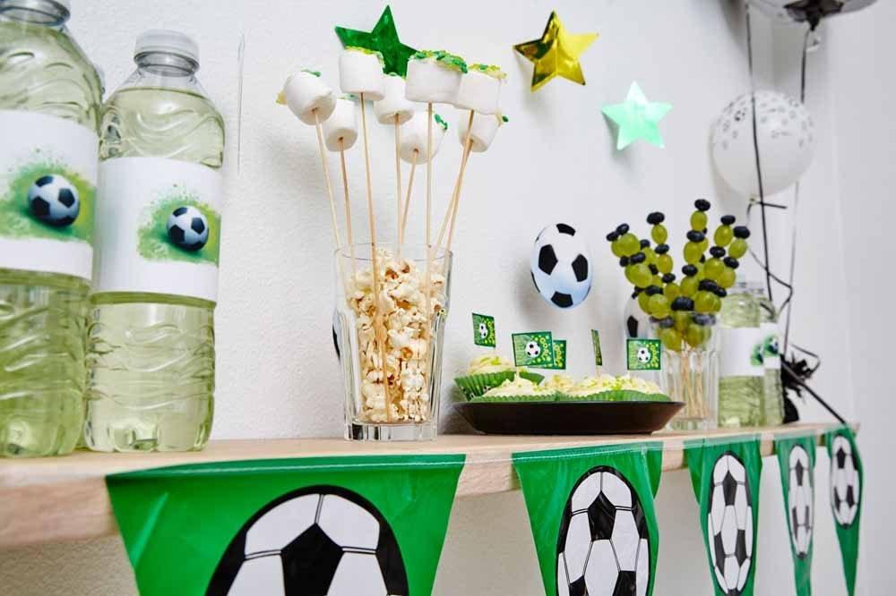 Fodbold Pynt Børnefødselsdag/temafest