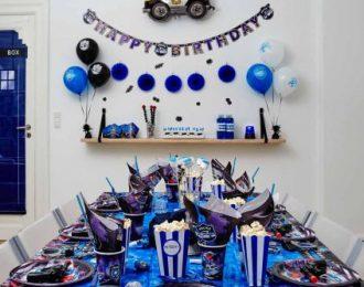 Politi Pynt Børnefødselsdag/Temafest