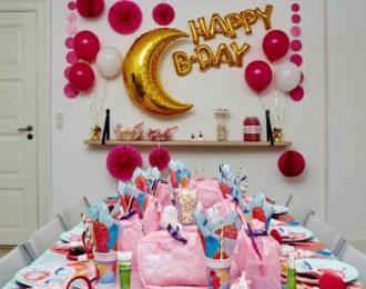 Sleepover Party Pynt Børnefødselsdag/Temafest