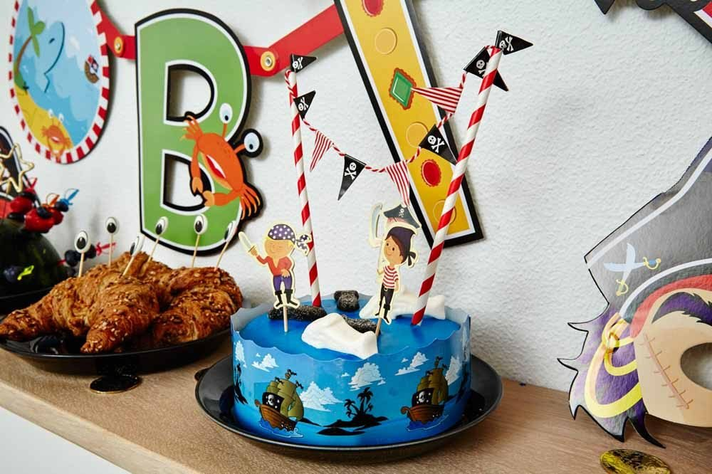 Pirat Pynt Temafest Børnefødselsdag