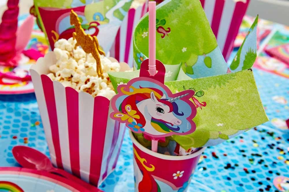 Enhjørning/Unicorn Pynt Temafest Børnefødselsdag