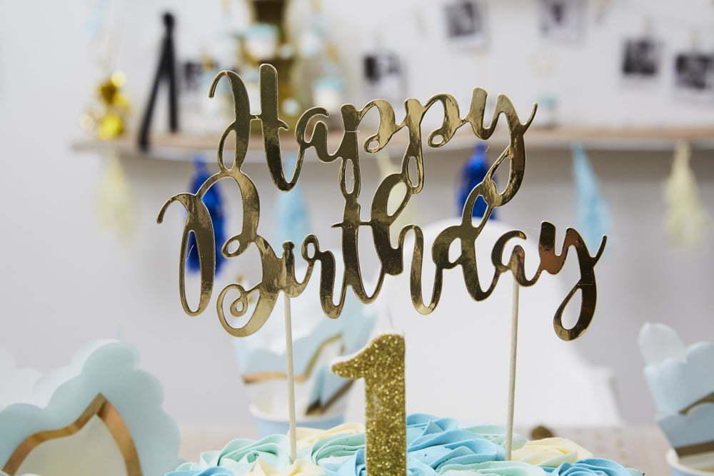 1 års fødselsdag – Dreng