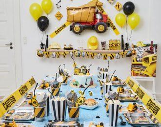 Byggepladsen børnefødselsdag/temafest