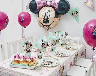 Minni Mouse Børnefødselsdag/Temafest pynt