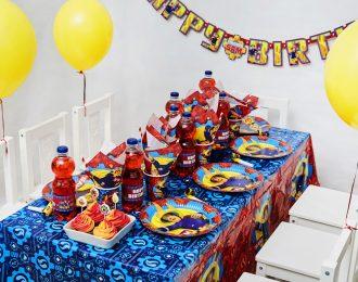 Brandmand Sam pynt Børnefødselsdag/Temafest