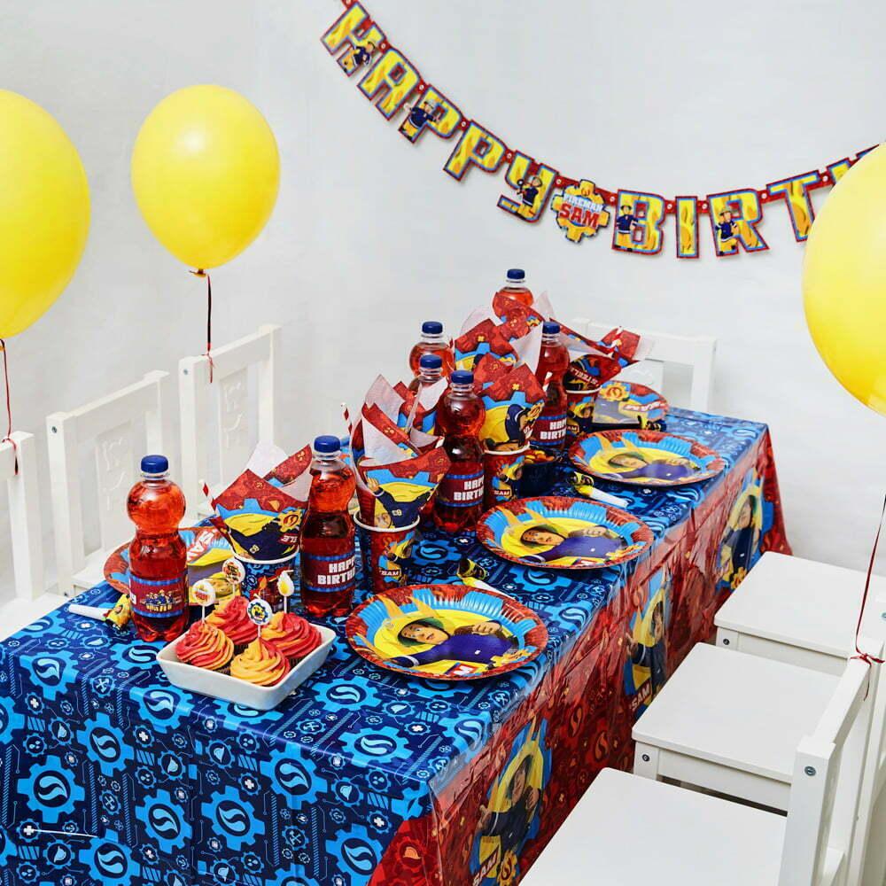 Brandmand Sam Børnefødselsdag/temafest