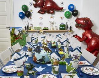 Dinosaur Børnefødselsdag/Temafest pynt