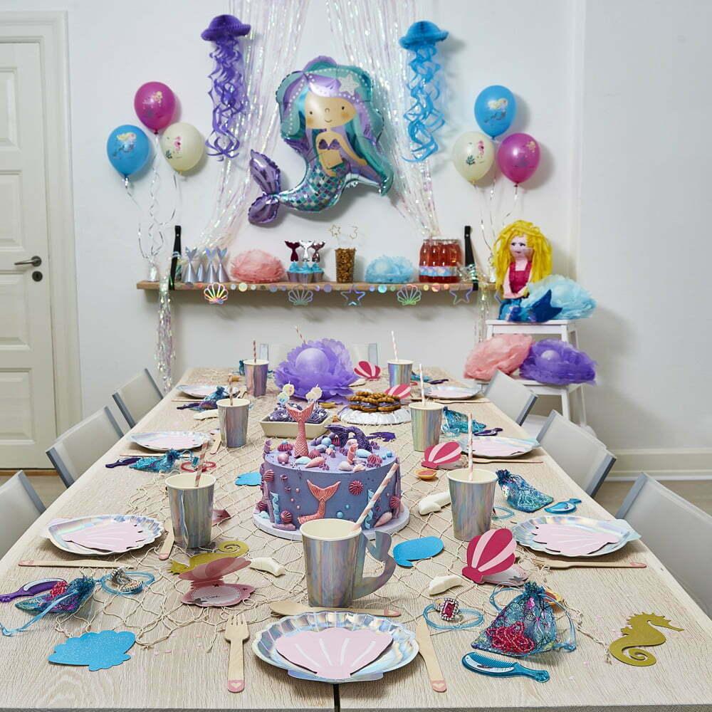 Havfrue børnefødselsdag/temafest