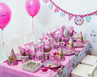 LOL Surprise Børnefødselsdag/Temafest pynt