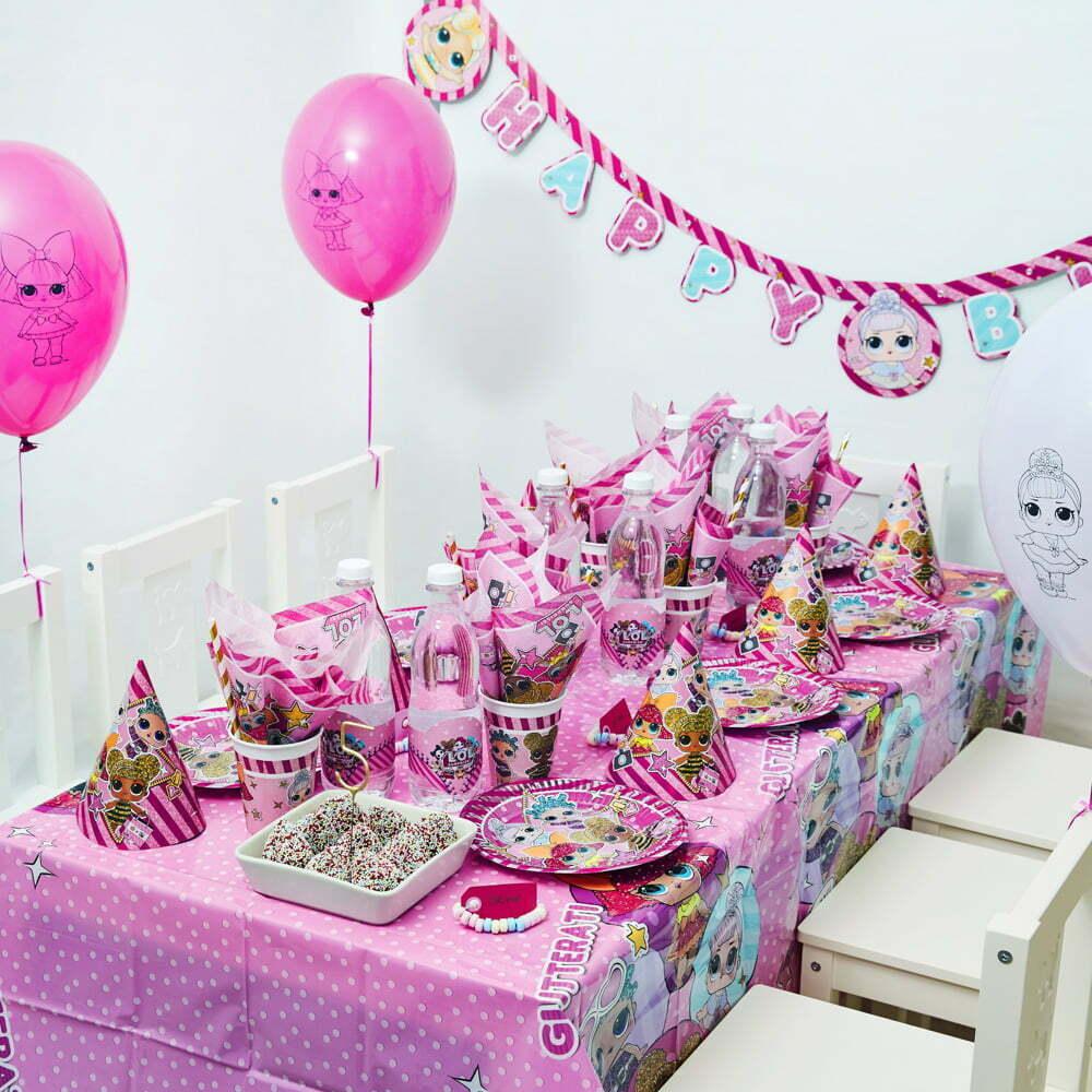 LOL Surprise Børnefødselsdag/temafest
