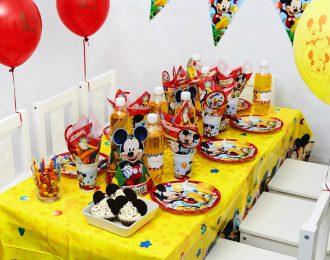 Mickey Mouse Børnefødselsdag/Temafest