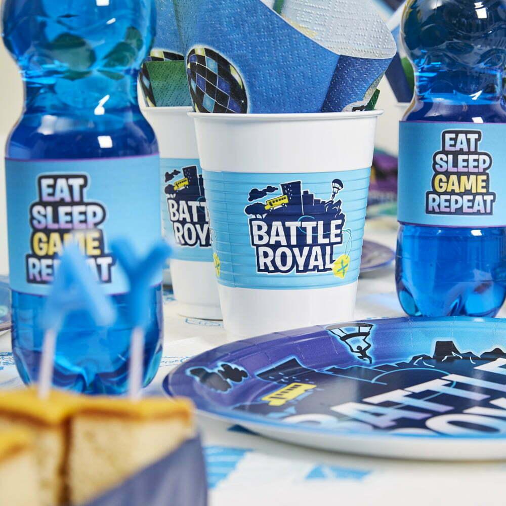 Gamer Børnefødselsdag/Temafest pynt