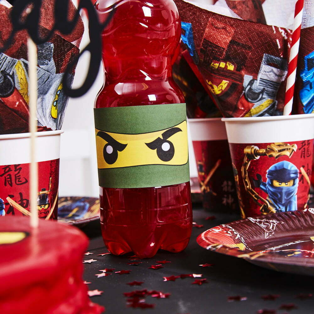 Lego Ninjago Børnefødselsdag/Temafest pynt