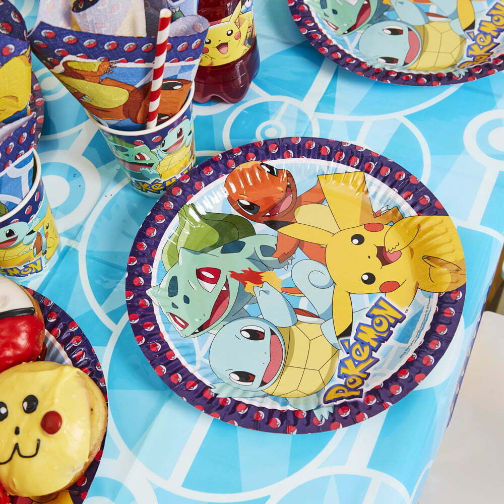 Pokemon Børnefødselsdag/Temafest pynt