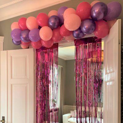 Ballon guirlande dør