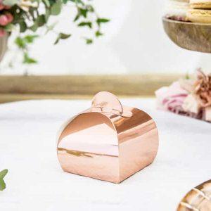 Rosegold box