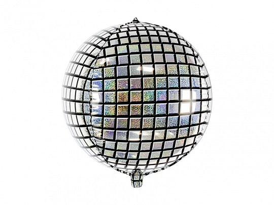 Disko kugle folie ballon