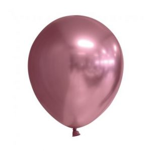 rosa chrome ballon