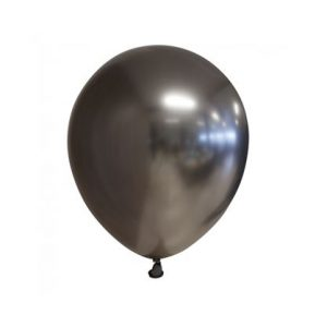 space grey chrome ballon