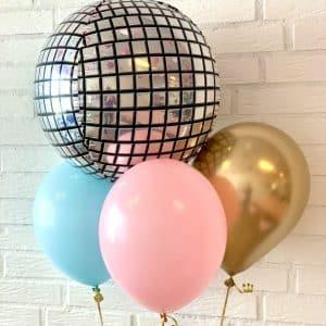 ballon box Disko kugle
