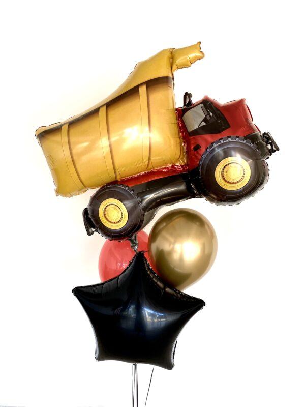Ballon box med lastbil