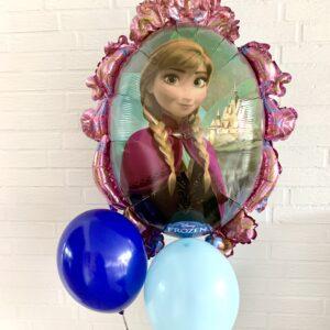 Ballon box frozen med to balloner