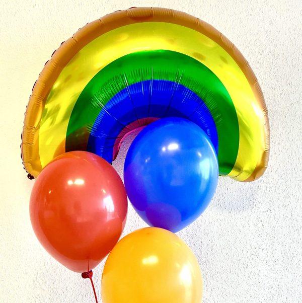 regnbue ballon box
