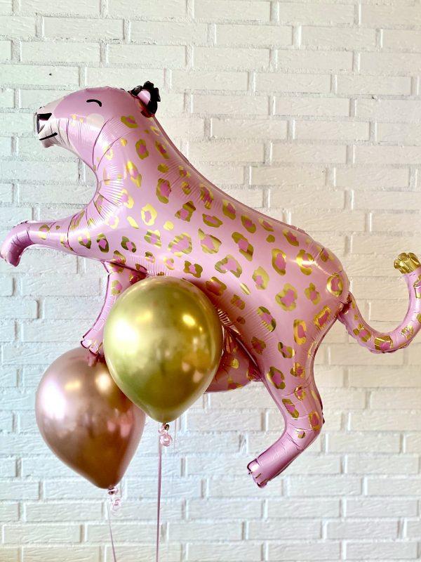 ballon box leopard