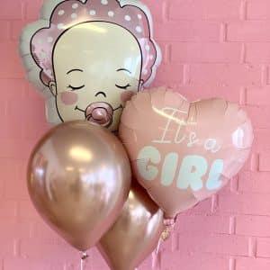 it's a girl ballon box