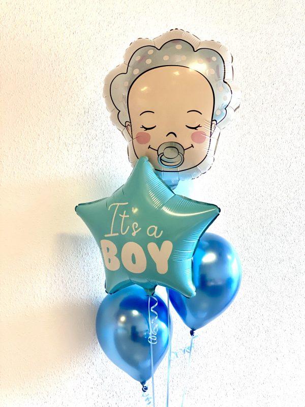 ballon box it's a boy