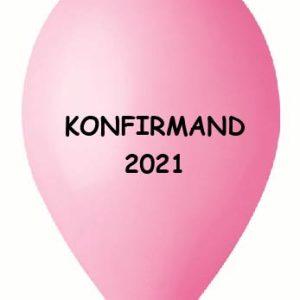 Konfirmand 2021 Rosa