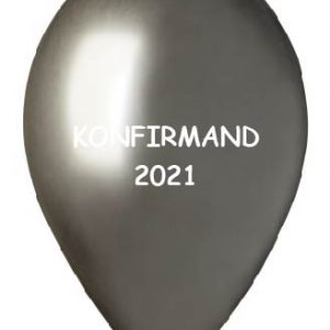 Konfirmand 2021 Space grey shiny
