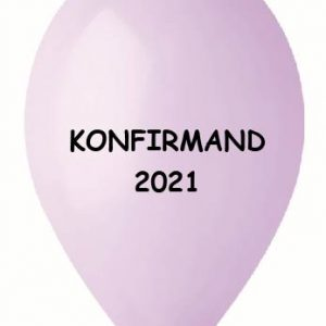 lilla ballon konfirmand 2021