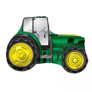 traktor folie ballon box