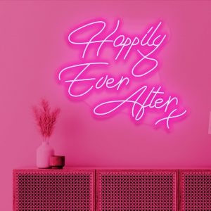 neon skilt happily ever after